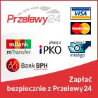 Akceptujemy Przelewy24